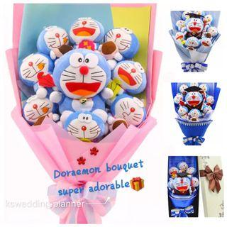 🚚 Graduation Bouquet Birthday Anniversary Doraemon Melody Flowers