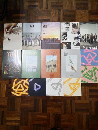 WTS SEVENTEEN ALBUMS WITHOUT PC
