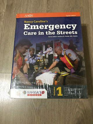 Emergency Care in the Streets 8th edition by Nancy Caroline (hardcover)