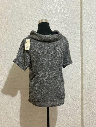 Cowl Neck Knitted Blouse