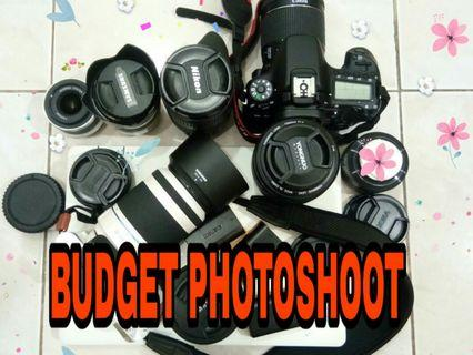 Budget Photography shoot service