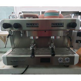Used Conti Coffee Machine + Coffee Grinder