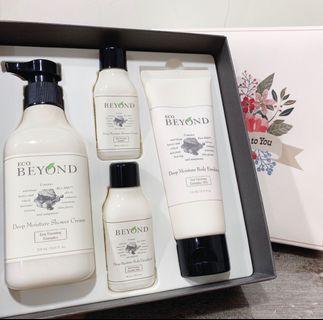 韓國品牌beyond沐浴乳液組合免運