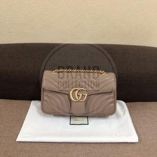 Authentic Gucci Marmont Small Nude