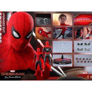 stealth suit / 紅黑spider man