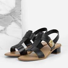 🚚 Charles & Keith T-Bar Black Sandal