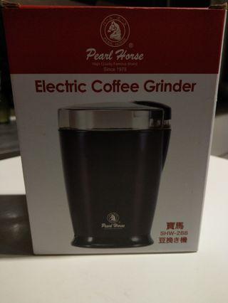 電動咖啡機加咖啡豆