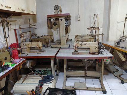 Borongan Mesin 7 Jahit & 1 Mesin Obras