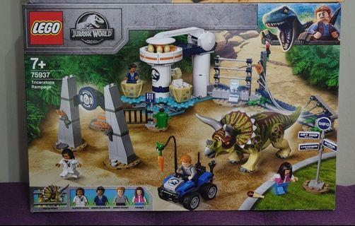 🚚 75937 Lego Jurassic Park Triceratop Rampage