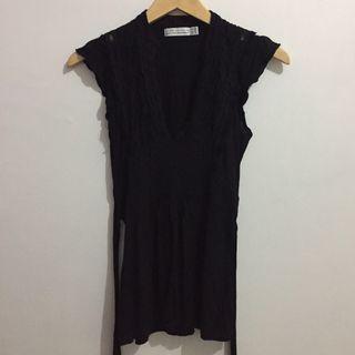 Zara Black Sexy Top