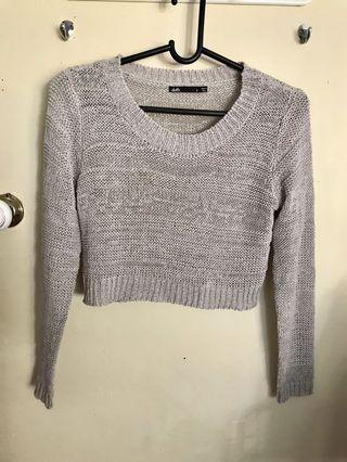Dotti cropped knit jumper