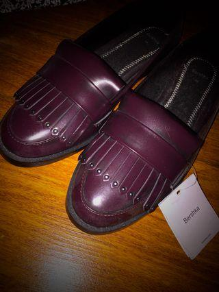 Asos loafer style shoes