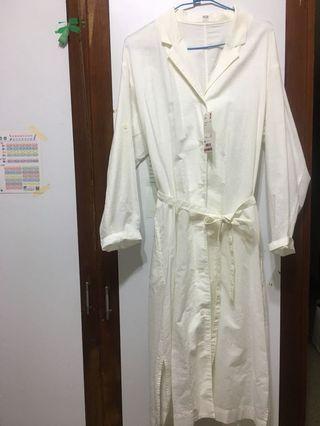 🚚 Uniqlo長版襯衫/洋裝