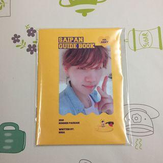 BTS OFFICIAL SUMMER PACKAGE GUIDE BOOK ( Yoongi )