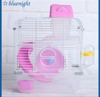 🚚 Hamster double layer Cage