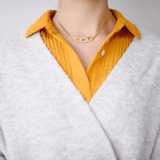 ✨Unique Givenchy vintage crystal gold choker necklace✨