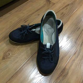 Geox navy shoes
