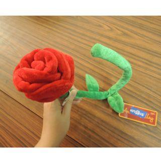 紅玫瑰布花