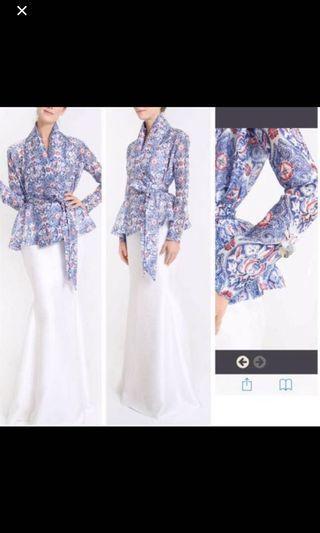 Jovian seroja kimono kurung