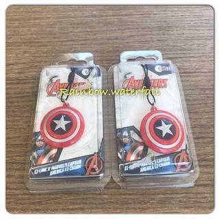 Marvel captain America ezlink charm