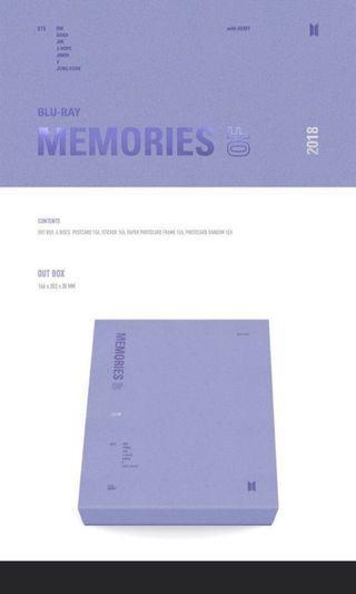 [PO] BTS Memories of 2018