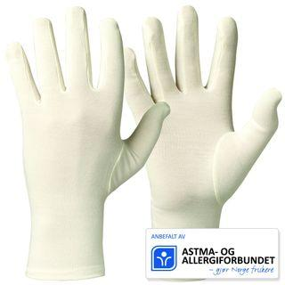 Comfortable Soft Bamboo Gloves For Allergy, Eczema, Dry Skin Protection