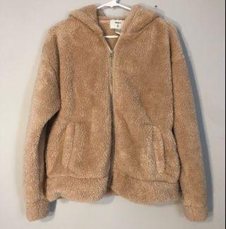 Oversized Fluffy Teddy Jacket