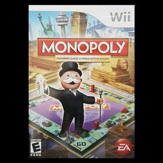 Monopoly Featuring Classic & World Edition Boards - Nintendo Wii