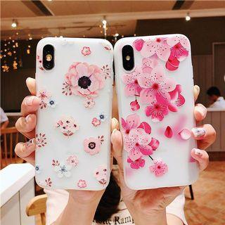 [ FREE NM ] Flower iPhone case