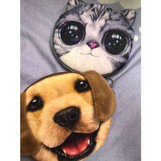 貓狗大戰零錢包