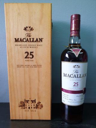 Macallan 25 Sherry Oak (Old Bottling)