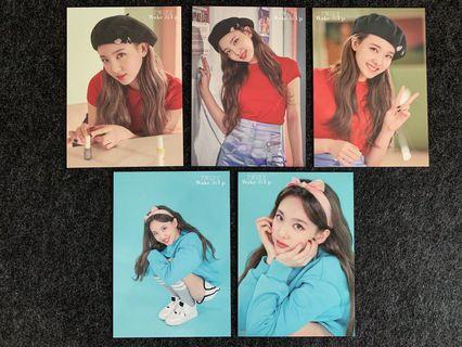🚚 CHEAPEST FULL SET OF Nayeon WMU Trading Card