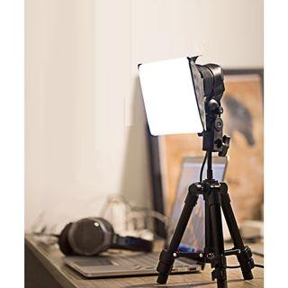 Brand new photography LED light with tripod stand extendable up to 65cm and light bulb full set photo taking watches jewellery amulet figurine food photography