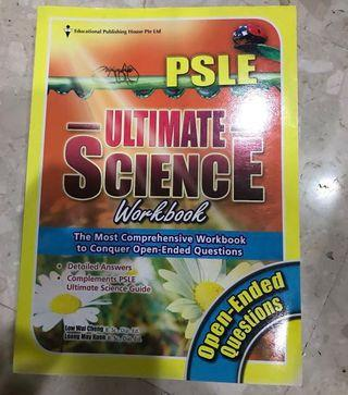🚚 PSLE Ultimate Science workbook