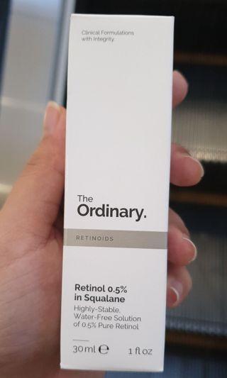 🚚 The Ordinary Retinol 0.5% with squalene