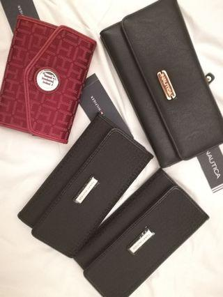 Brand New Authentic Tommy and Nautica Wallet