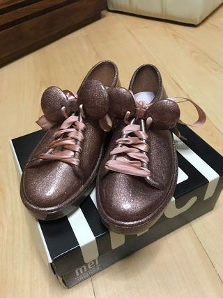 melissa女童膠鞋22cm