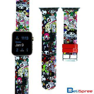 Brand New Donutella Adios Mummy Custom Design TPU Wrist Strap Apple Watch Band 38mm 42mm for iWatch Series 4 3 2 1