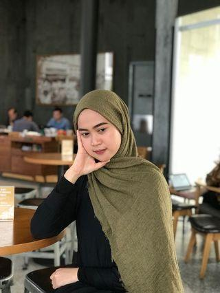 Crinkle shawl / pasmina crinkle