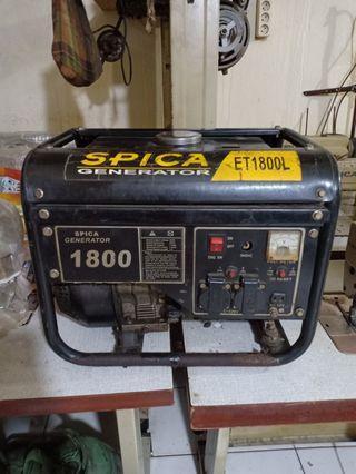 Genset Spica Generator 1800
