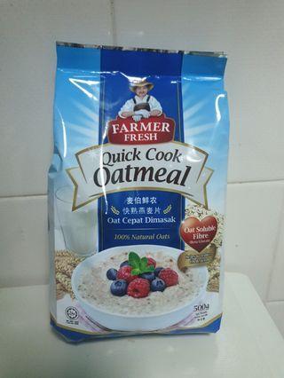 Quick Cook Oatmeal - Farmer Fresh