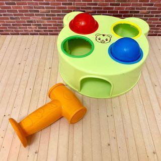 正版 巧連智 巧虎 打地鼠 敲打顏色認知遊戲 玩具 教具 育兒好物