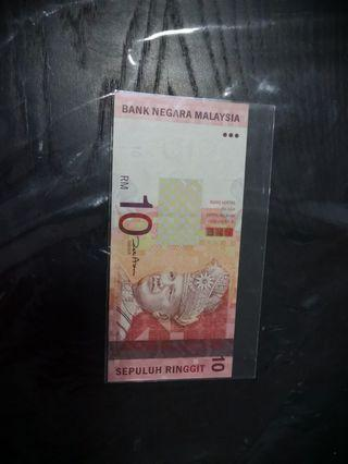 Malaysia notes Rm10 very rare