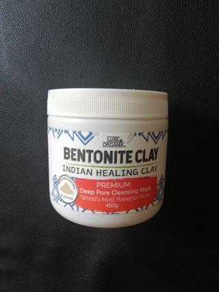 Luxe organic bentonite clay mask aztec