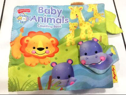 Soft Book Baby Animal Counting Book