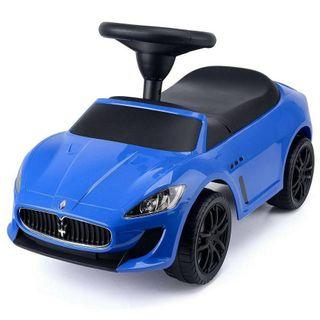 Maserati toy car blue kids