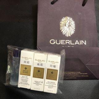 Guerlain 面霜、lotion、晚霜、防曬(Sample x 1 set)