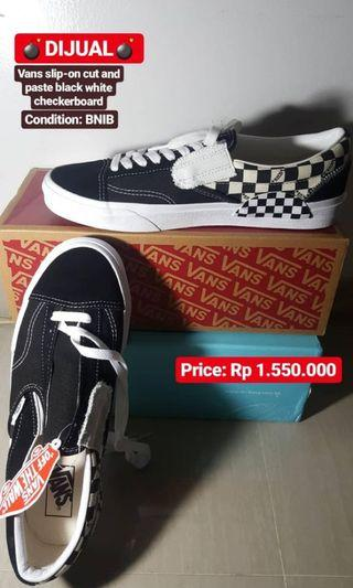 Vans Cut and Paste Checkerboard