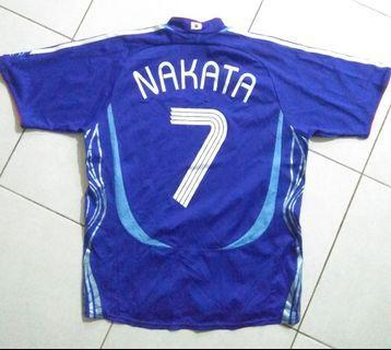 Japan Nakata 2006 Home Jersey
