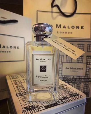 Jo Malone Tin Can English pear & Fressia Cologne 100ml 英國梨及小蒼蘭香水 限量版鐵盒